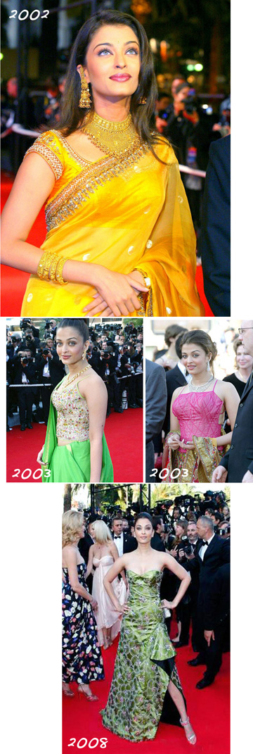 aishwarya, aishwarya rai, cannes, weight, fashion, beauty, clothes, wardrobe, India, bollywood, pregnancy, red carpet, kurta, anarkali, sari, saree