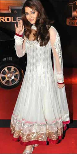 anarkali, kurta, tunic, Indian, India, fashion, beauty, aishwarya rai, mehr, rampal